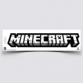 Minecraft Logo Klisterm&auml;rke
