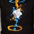 Portal 2 Gel Splatter T-Shirt