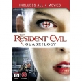 Resident Evil: Quadrilogy Box DVD
