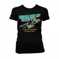 Star Trek - Beam Me Up Scotty Girly T-Shirt