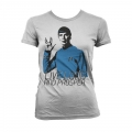 Star Trek - Live Long And Prosper Girly T-Shirt