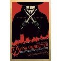 V For Vendetta - Red Filmposter