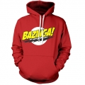 Big Bang Theory Bazinga Logo Huvtröja