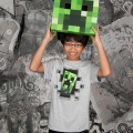 Minecraft Creeper Inside Barn T-shirt