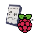 Raspberry Pi 4gb Minneskort med Debian Linux