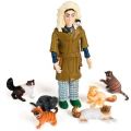 Crazy Cat Lady Actionfigur
