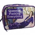 Makeup Bag Queen of Fucking Everything