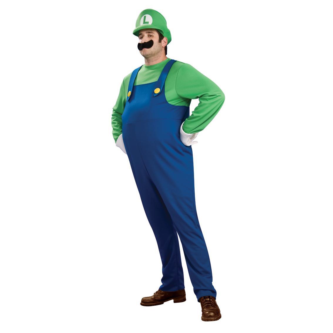 Luigi Deluxe Maskeraddräkt