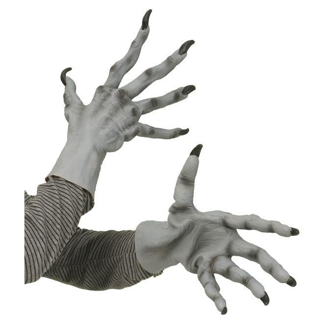 Läskiga Handskar Maskeradtillbehör