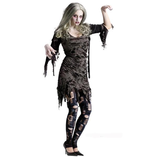 Zombieklänning Maskeraddräkt