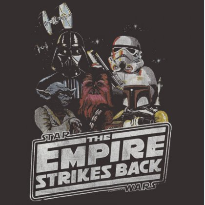 Empire Strikes Back by Junk Food