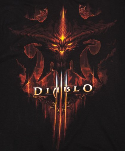 Diablo III Burning T-Shirt