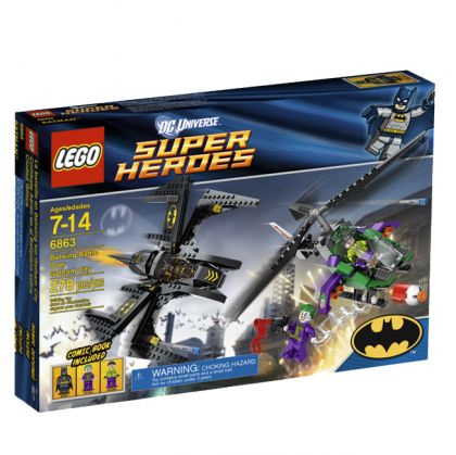 LEGO Super Heroes Batwing Battle Over Gotham City 6863