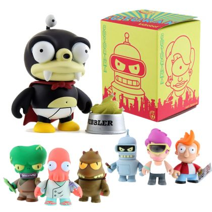 Kid Robot Futurama Mini Figures