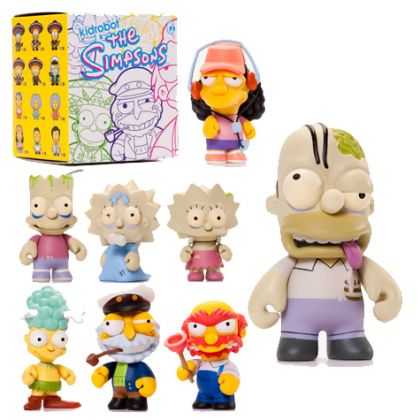 Kid Robot Simpsons (Series 2) Mini Figures