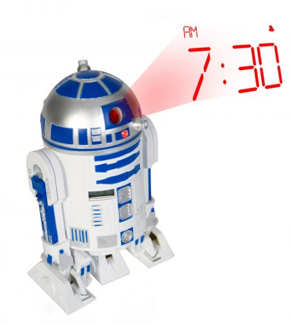Star Wars R2-D2 Projektor-Alarmklocka