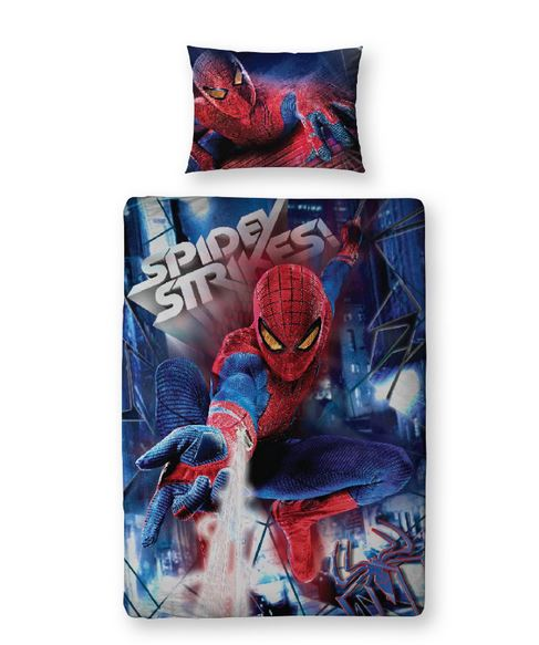 Fantastiska Spindelmannen Bäddset Film 3D 135 x 200 cm