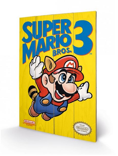SUPER MARIO BROS. 3 (NES COVER) CANVASTRYCK