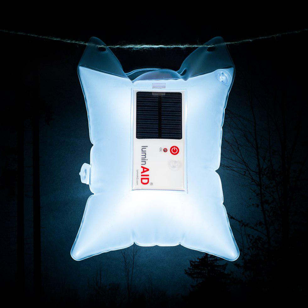 Luminad Solcellslampa