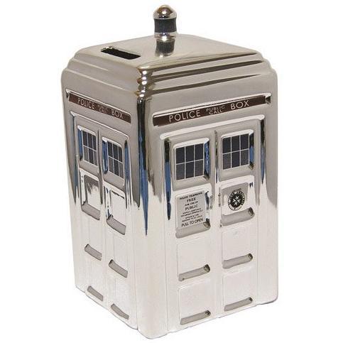 Doctor Who Silver Keramisk Sparbössa
