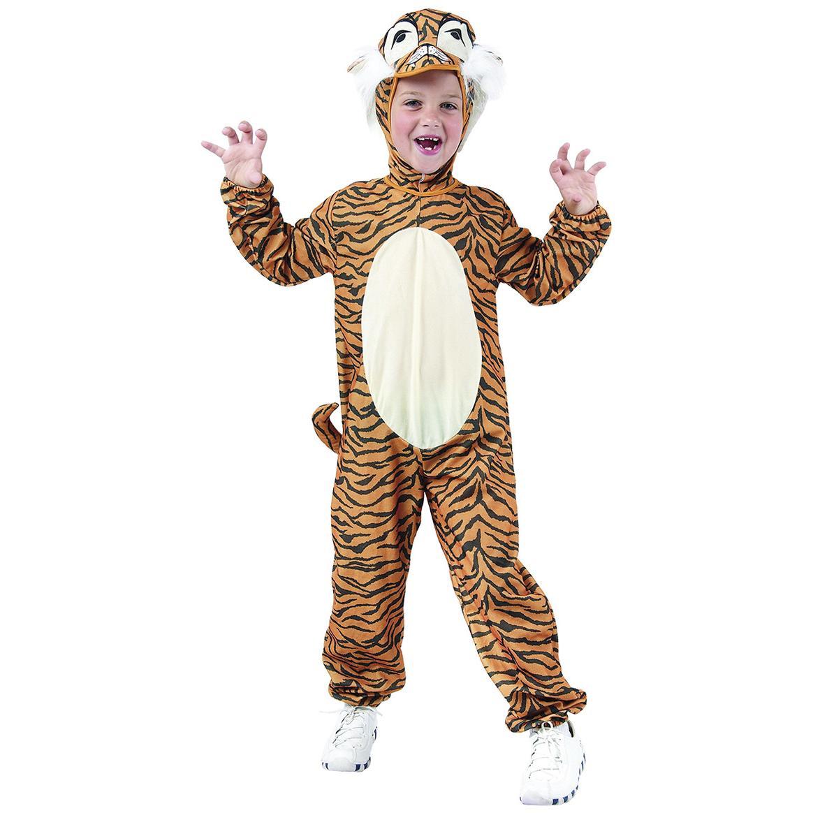Maskeradkläder Barn - Tiger Maskeraddräkt Barn