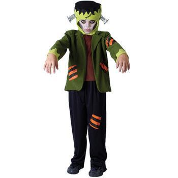Maskeradkläder Barn - Frankensteins Monster Maskeraddräkt Barn
