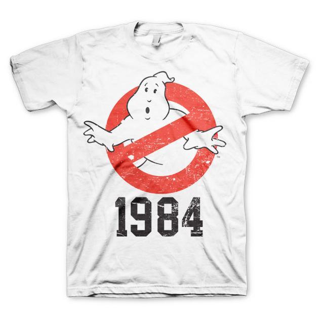 Ghostbusters 1984 T-Shirt Vit