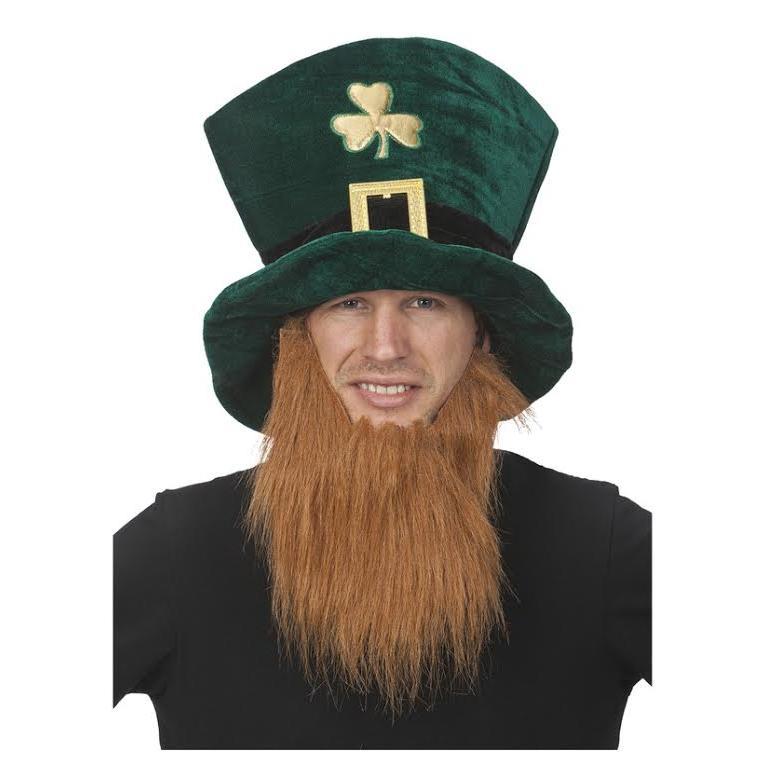 St Patricks Hatt med Skägg