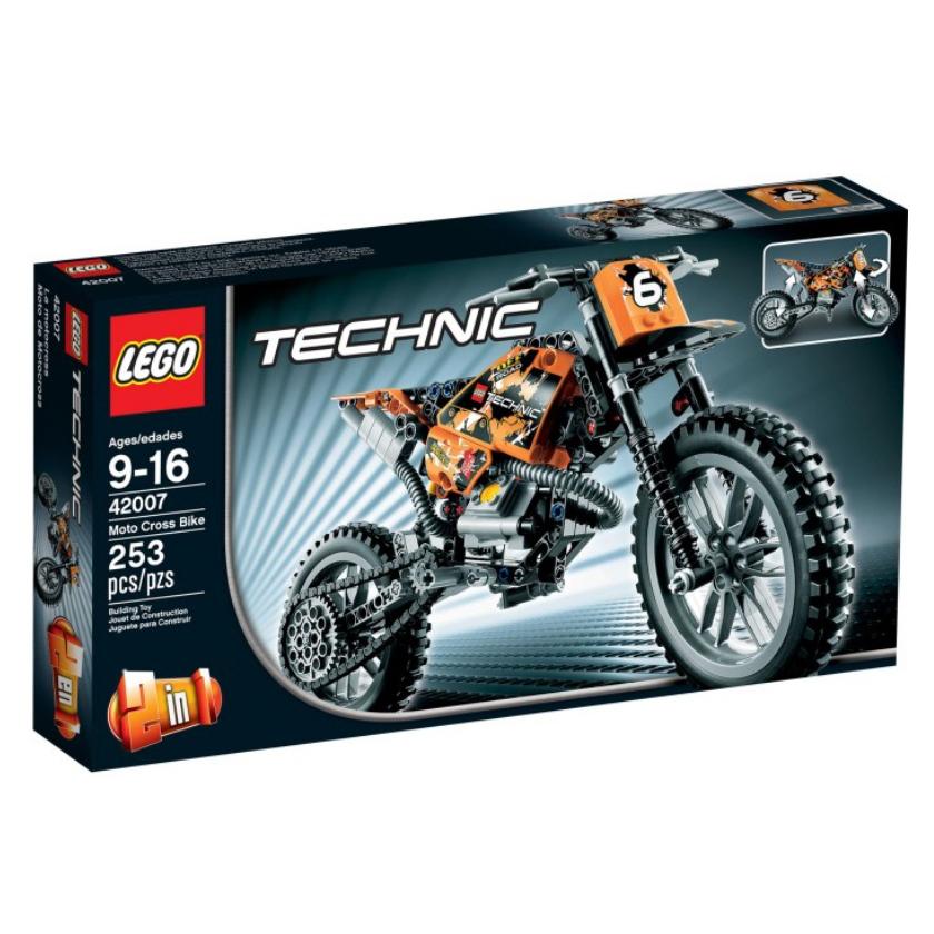 LEGO Technic Motocrosscykel 42007