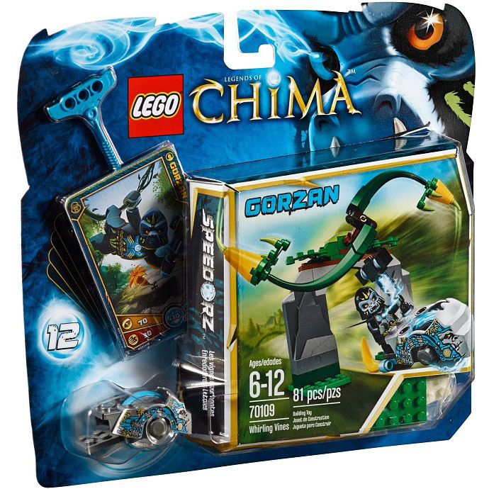 LEGO Legends of Chima Snurrande slingerväxter 70109