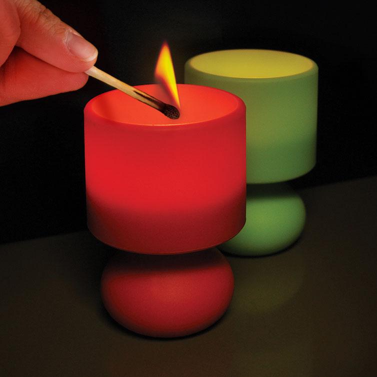 Värmeljus Retro Lampa