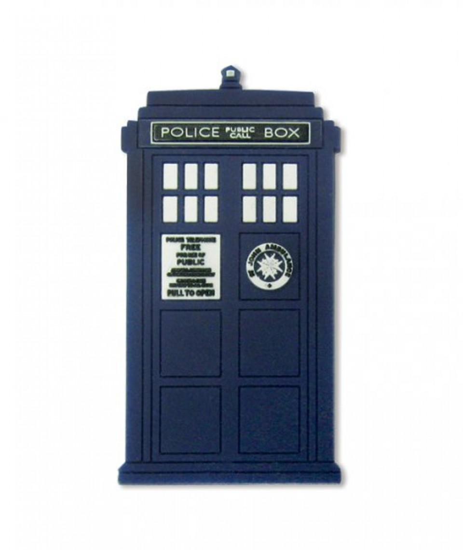 Dr Who Kylskåpsmagnet Tardis