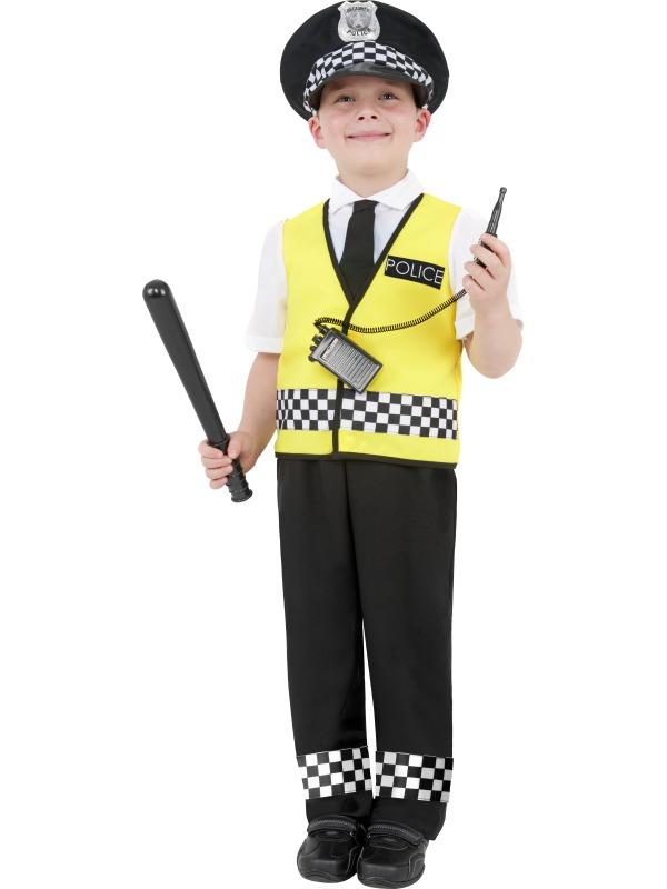 Polispojke-dräkt
