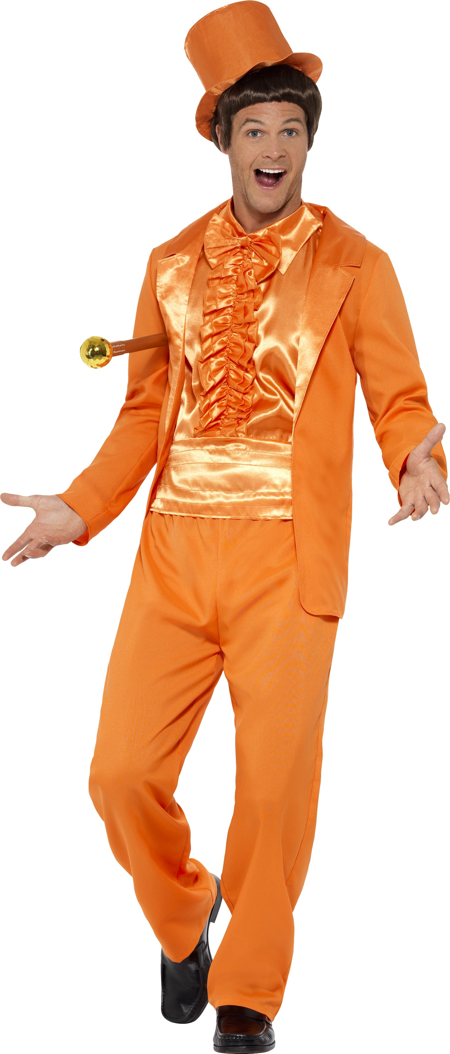 Smoking Maskeraddräkt 90-tal Orange