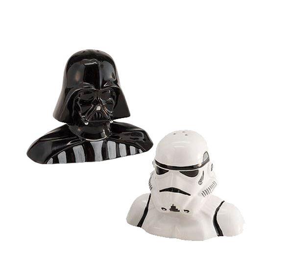 Star Wars Salt- och pepparkar Darth Vader och Stormtrooper