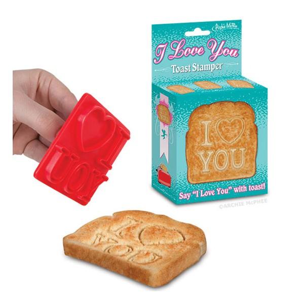 I Love You Toast-stämpel
