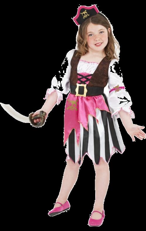 Rosa Piratdräkt Tjej just nu 279 kr fdb184682602f