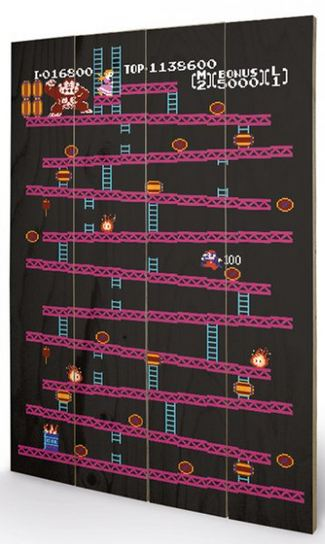 DONKEY KONG (NES) CANVASTRYCK