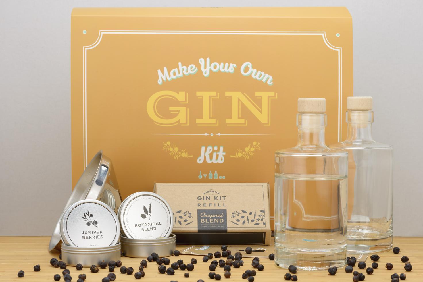 Gör din egen gin - kit