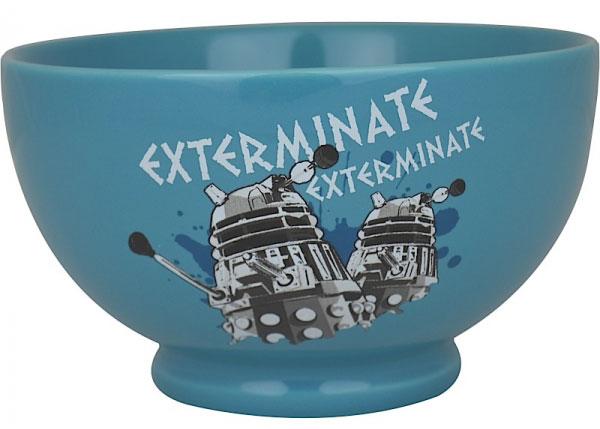 Doctor Who Dalek Frukostskål