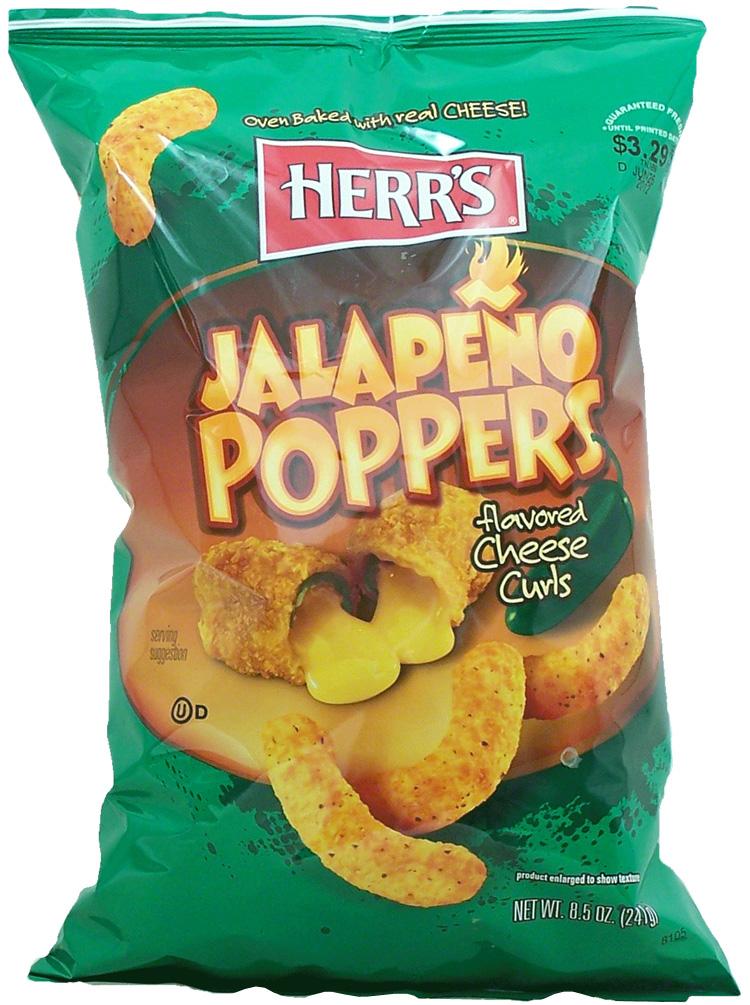 Herr's Jalapeno Cheese Curls 198,5g