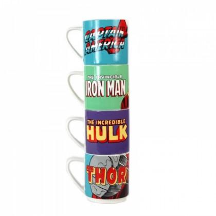 Marvel Muggar 4-pack