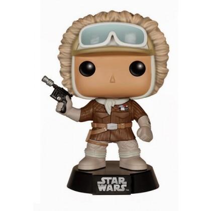 Star Wars Pop Bobble Head Han Solo Hoth Roliga Prylar