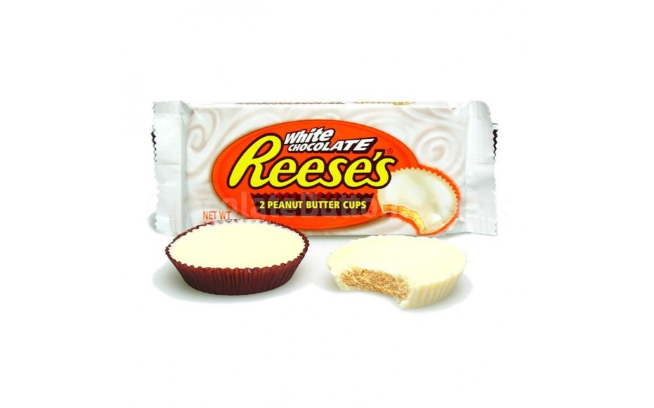 Reeses White Chocolate Peanut Butter Cups - Roliga Prylar