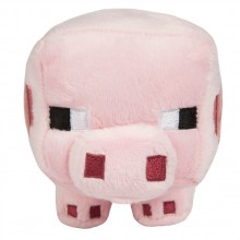 Minecraft Baby Pig Mjukisdjur 17 cm