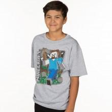 Minecraft Vintage Steve Barn T-shirt