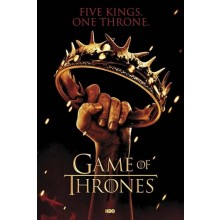 GAME OF THRONES - KRONAFFISCH