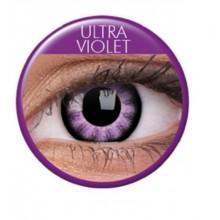 Färgade linser big eyes ultra violet