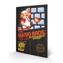 SUPER MARIO BROS. (NES COVER) CANVASTRYCK