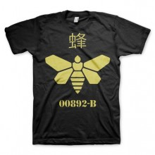 Breaking Bad Methlamine Barrel Bee T-Shirt Svart